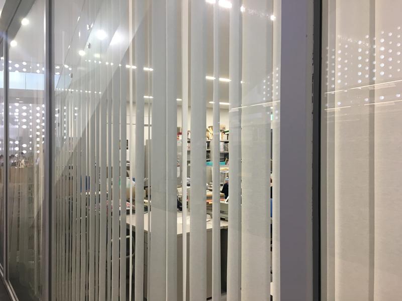金沢海みらい図書館 事務室